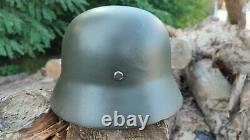 WW2 German Original Helmet WOW! + Great bonus
