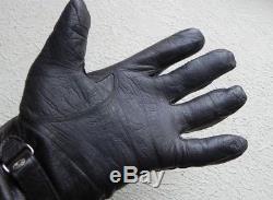 WW2 German Original Leather Luftwaffe pilot gloves