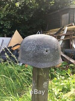 WW2 German Original M38 Fallschirmjager Paratrooper Helmet