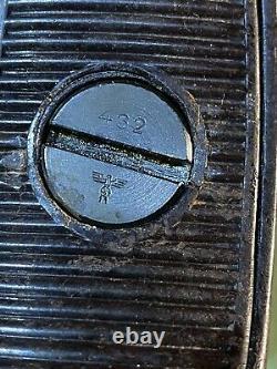 WW2 German Original MG 34 Bakelite stock, Early construction, Rare