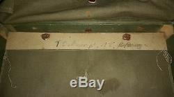 WW2 German Original Tornister Back Pack Wehrmacht Backpack Horse hair, B18