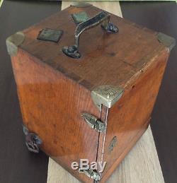 WW2 German Wehrmacht Artillery Theodolite, R&A ROST in Original Box, Rare Piece