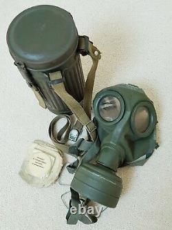WW2 German Wehrmacht Gas Mask set with all straps and accessories 100% Original