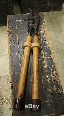 WW2 German Wehrmacht Original Wire Cutters Long Engineer Pionier Field 1937 WaA