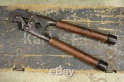 WW2 German Wehrmacht Original Wire Cutters Short Engineer Pionier Field