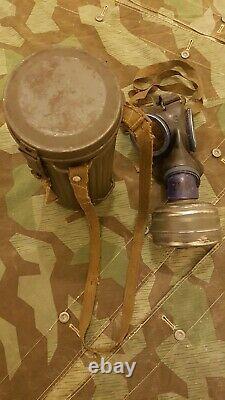 WW2 German gas mask 100% Original
