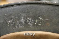 WW2 German original M35 Double decal Normandy camouflaged Helmet