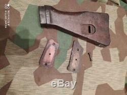 WW2 German original MP-44 stock and pads