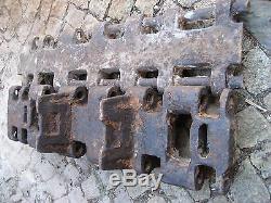 WW2 German original heavy tank Pz. VI King Tiger königstiger track link