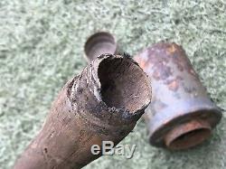 WW2 M24 original parts from the German bunker Stalingrad