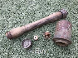 WW2 M24 original parts from the German bunker Stalingrad. 1937