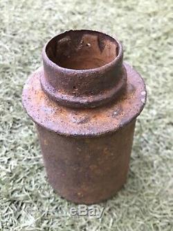 WW2 M24 original parts + metal case from the German bunker Stalingrad. 1940