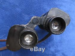 Ww2 Original German 1944 Military 10x50 Binoculars Blc Dienstglas By Carl Zeiss
