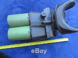 Ww2 Original German Dienstglas Military 10x80 Flak Binoculars Cxn Emil Busch