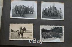 WW2 ORIGINAL GERMAN PHOTO Album kriegsmeihnachten 1940 pionierparkkompanie 551