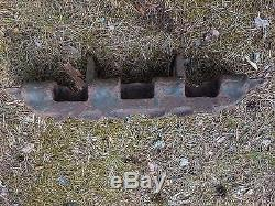 WW2 ORIGINAL German PANTHER TANK TRACK LINK BATTLEFIELD RELIC from KURLAND