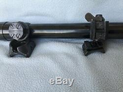 WW2 Original GERMAN ZF39 CARL ZEISS ZIEVER x4 (blc+) Sniper Mauser K98 Wehrmacht
