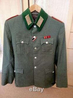 WW2 Original German Artillery Officers Tunic