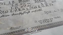 WW2 Original German Diploma