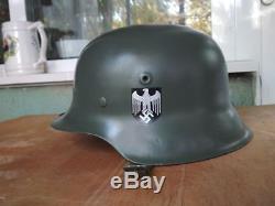 WW2 Original German Helmet M40 Steel Helmet Perfect Condition MUSEUM