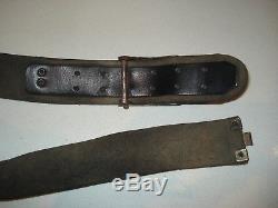 WW2 Original German Luftwaffe belt and buckle