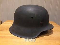 WW2 Original German M42 Helmet