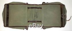 WW2 Original German Military Fabric Motor or Bicycle Saddlebags