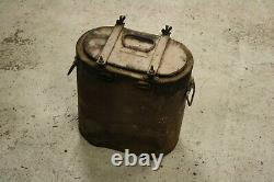 WW2 Original German Wehrmacht Waffen Food Can Dated bmc 1943 Eating Front