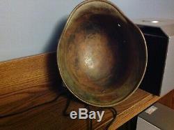 WW2 Original German helmet M40 Q64 Africa korps