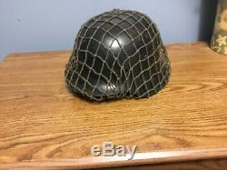 WW2 Original German helmet M42. CKL 64