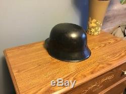 WW2 Original German helmet M42 size ET 66