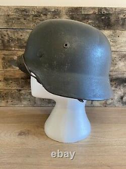WW2 Original M40 German Helmet