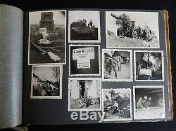 WW2 Original Photograph Album GERMAN ARMY on The Russian Front 337 Photo's
