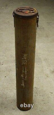 WW2 Original Relic Nebelwerfer 42 Container Eastern Front Tan German Wehrmacht