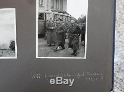 Ww2 Russia Original Photograph Album By German Invaders Oryol Prudki Ukraine +