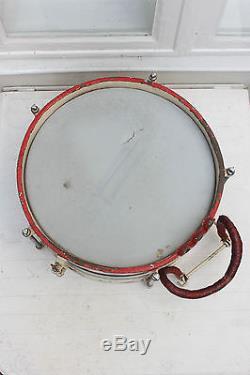 WW2 WW1 German Original Marching Drum Snare Drum C. A. Wunderlich HJ Wehrmacht