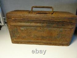 WW2 WWII GERMAN BOX CASE Mi. 35 WEHRMACHT ORIGINAL