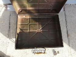 WW2 WWII GERMAN M24 STICK BOX CASE WEHRMACHT ORIGINAL pain