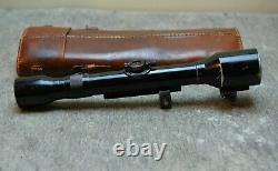 WW2 WWII GERMAN Sniper Rifle Scope Dialyt 6x Hensoldt Wetzlar = Carl Zeiss AG
