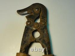 WW2 WWII Original German Wehrmacht Pioneer Barbed Wire Cutters