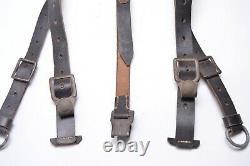 WW2 german COMBAT Y-STRAPS. (Koppeltraggestell für Infanterie) MINT! Late War