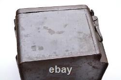 WW2 german SMi Z35 CASE. (Zeitzünder Kasten) marked orginal paint