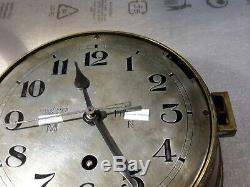 WW2 german kriegsmarine U-Boat clock watch original rare bordure waffenamt