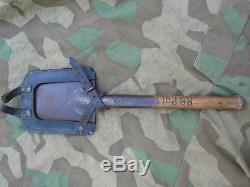 WWII 100% Original AB&C GERMAN M31 SPADE SHOVEL Feldspaten Wehrmacht No 8,8cm