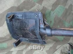 WWII 100% Original gcq 43 GERMAN M31 SPADE SHOVEL Feldspaten Wehrmacht No 8,8cm