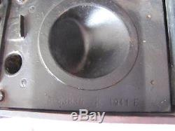 WWII 1940 ORIGINAL GERMAN BAKELITE BOX HAND CRANKED FIELD RADIO TELEPHONE WaA