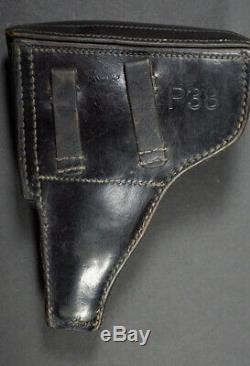 WWII GERMAN P. 38 Holster, gxy 1942, 100% ORIGINAL
