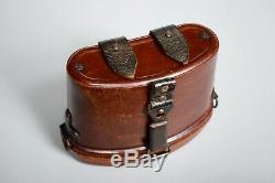 WWII German 6x30 Dienstglas Binocular Case Red Bakelite JHG 1944 Original