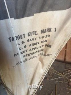 WWII German Airplane Target Kite Mark 1 Great original condition RARE 3-C-29