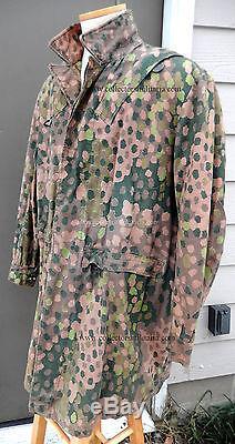 WWII German Elite Camouflage Fallschirmjäger Smock Original WW2 Very Rare